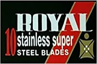 Personna Royal 両刃替刃 10枚入り(10枚入り1 個セット)【並行輸入品】