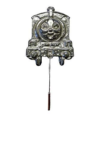 Giftsforall FT382 Krawattennadel, Zugmotor, 2,3 x 3 cm, englisches Zinn auf Krawattennadel, Hut, Schal, Halsband