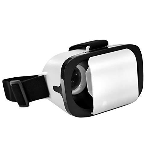 Qianyuyu 3D VR Auriculares de Realidad Virtual, Gafas VR para 360 Grados Inmersivos Vídeos/Películas/Juegos en 4.0-6.3' iPhone 5 6s Plus Samsung S6 Edge Note 5 LG G3 G4 Nexus 5 6P