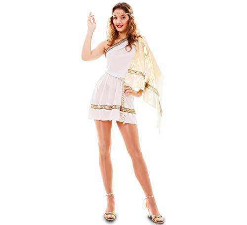 EUROCARNAVALES Disfraz de Romana con Capa para Mujer