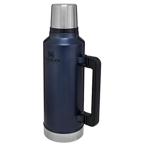 Stanley Classic Legendary Bottle 1.9L / 2.0QT Nightfall – Thermosfles houdt 45 uur warm, 2 dagen koud | Levenslange garantie | Vaatwasserbestendig | Roestvrijstalen Thermoskan | Lekvrij | BPA-vrij