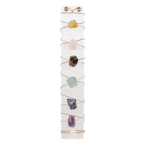 SM SunniMix Cristales Piedras Decoración Gemas de relajación Yoga Meditación Colección Manualidades para Brujas