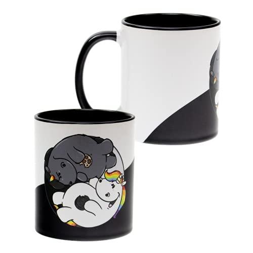 Pummel & Friends - Tasse (320ml) - Yin & Yang (Pummeleinhorn & Grummeleinhorn)
