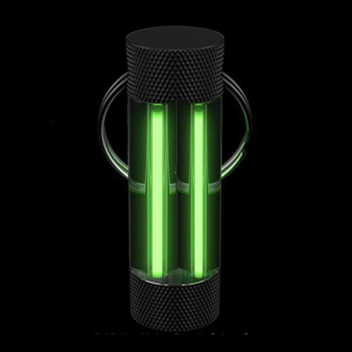 Firefly - Anillo luminoso para iluminar durante 10 años, verde