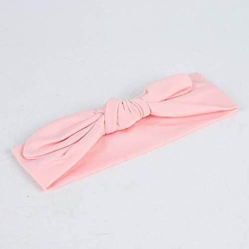 FindeGo Haarband elastischen Tuch Bogen Stirnband Baby Diadem Stirnband Haarband pinkBowknot Baby-Kind-Stirnband-elastische Neugeborenes Baby-Stirnband Supplies
