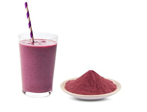Bio lila Maulbeersaft Pulver 250g belebendes Maulbeerpulver ideal für Maulbeeren Superfood Smoothies Saft, Säfte, Trinks, Shakes