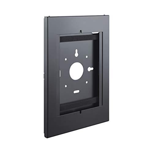 PureMounts PDS-5900 Custodia in acciaio con serratura per tablet per Apple iPad 9.7   iPad 10.2    iPad Pro 10.5   iPad Air 10.5  (Gen 3)   Samsung Tab A 10.1 2019, nero