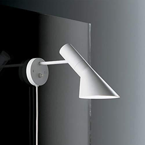 Moderne Wandleuchte Beleuchtung Wandmontage Nachttischlampe Leselampe Arne Jacobsen Wandleuchten Kreative AJ Wandleuchte Hauptbeleuchtung,White