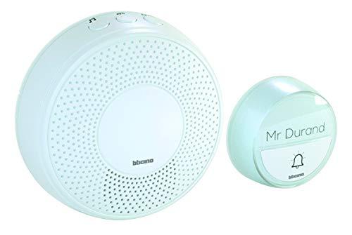 Bticino 393016D Kit Campanello Plug In Comfort, Bianco