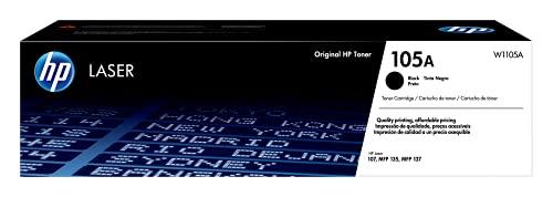 Cartucho de tóner láser W1105A- 105A - Negro