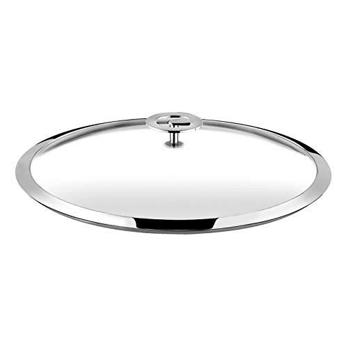 Cuisinox Universel - Couvercle 20cm verre trempé et inox