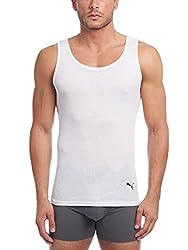 small PUMA Rib Men's Tops 3 Pack, White, L.