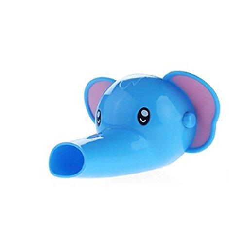 RuitingGrifo Extender Alargador Lavado de Manos Infantil Estilo de Elefante del Fregadero para Ayuda niños Bebes