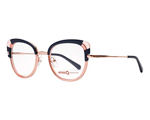 Etnia Barcelona frame (SINTRA BLPK) Acetate - Metal Transparent Pink fuschia fuchsia - Dark Blue