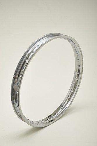 Llanta de acero cromado 1,40x 18pulgadas, con 36agujeros