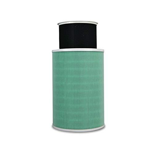 FangFang Forma for Xiaomi Mi Inteligente purificador de Aire Filtro de Repuesto Cleaner 2 2S Air MAX Filtro de núcleo Extracción HCHO formaldehído V (Color : Green)
