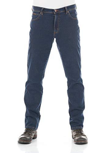 Wrangler Texas Slim Jeans, Blu (Cross Game 11u), 34W / 32L Uomo