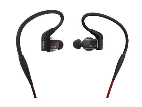 Sony XBAH3 Hybrid 3-way Driver In-Ear Headphones