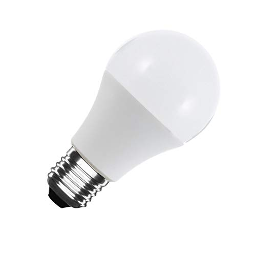 LEDKIA LIGHTING Bombilla LED E27 Casquillo Gordo A60 5W Blanco Frío 6000K - 6500K