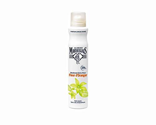 Le Petit Marseillais Déodorant Extra Doux 24 h Spray Fleur d'Oranger 200 ml
