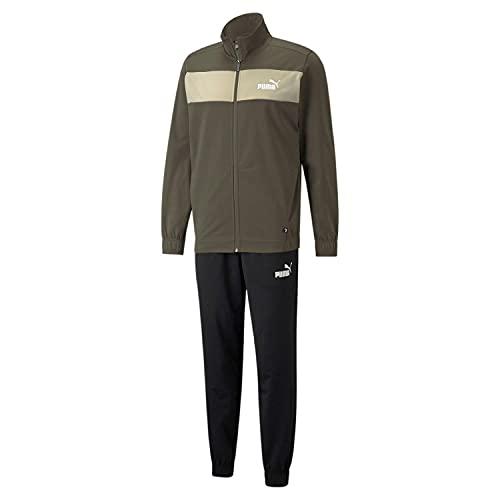 PUMA Herren Poly Suit Cl Trainingsanzug, Traubenblatt, L