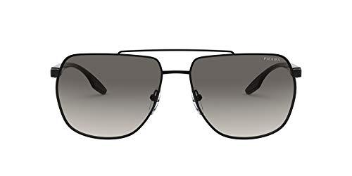 Prada Linea Rossa sonnenbrille PS 55VS 1AB3M1 Schwarz grigio größe 59 mm Herren