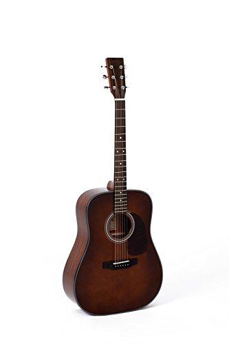 Guitares électro acoustiques SIGMA DM1STBR DREADNOUGHT BROWN SUNBURST Folk électro