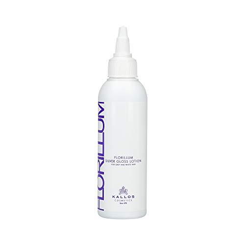 KALLOS Florillum Silver Gloss Lotion for grey and white hair, lot de 1 (1 x 100 ml)