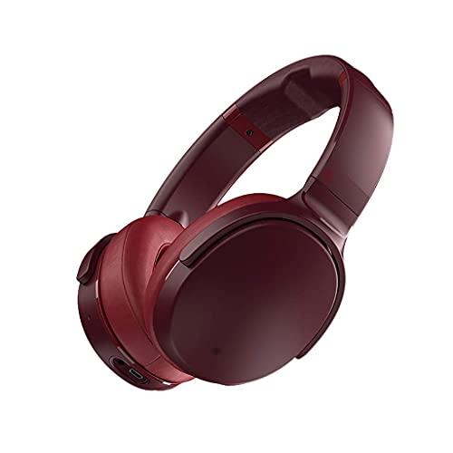 Pkfinrd Auriculares de Juego Auriculares sobre oído Bluetooth 5.0 Auriculares inalámbricos Auriculares Cancelación de Ruido Activo Carga RÁPIDA Memoria DE Carga RESPONSAJE A LOS AUENTES AUTEPADOS