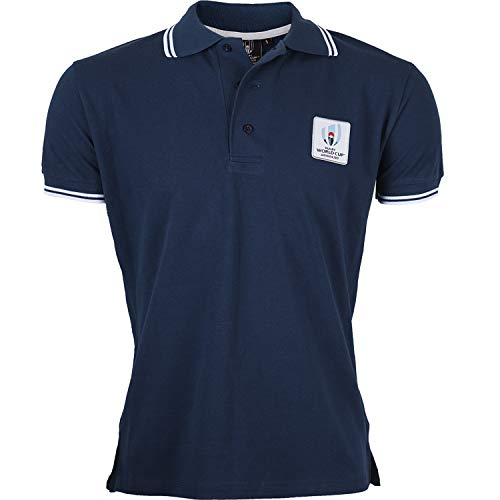 Polo Coupe du Monde DE Rugby 2019 - Collection Officielle Rugby World Cup - Taille Homme XXL