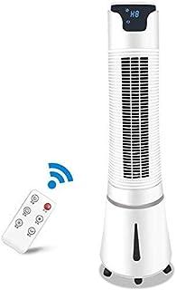XBSLJ Ventilador de enfriamiento Delgado con Aire Acondicionado, la Columna giratoria y el Control Remoto La Pantalla LED de Modo de 3 velocidades de Tercera Velocidad de 32