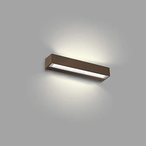 Faro Barcelona 71046 Tana LED-wandlamp, roestbruin