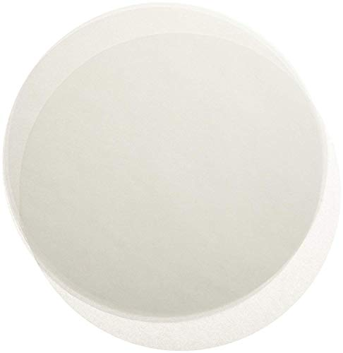 Greaseproof Parchment Paper Liners for Round Cake Pans, 50, White