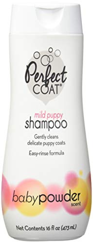 Perfect Coat Puppy Shampoo, Baby Powder Scent, 16-Ounce