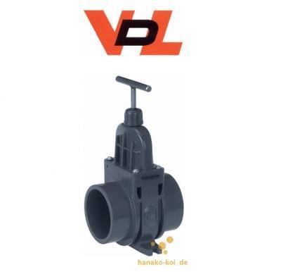 VDL Train Schieber 50 mm avec Joint ultradoux, Pression de Travail 3BAR