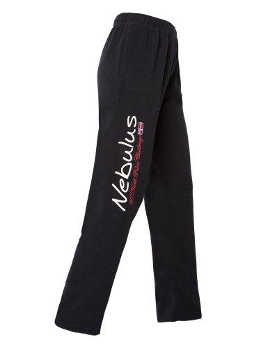 NEBULUS FLEECEHOSE EMPIRE, Damen, Hose, Sporthose, Fleece, schwarz, Größe M (Q912)
