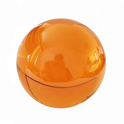 CROSYO 1pc 50mm / 60mm / 70mm / 80mm / 100mm Color ámbar K9 MEDITACIÓN MEDITACIÓN Cristal Ball NO Stand DE DECORACIÓN (Color : Amber, tamaño : 70mm)
