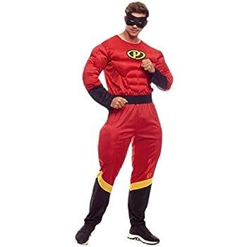 Disfraz Party Héroe hombre (M): Amazon.es: Juguetes y juegos