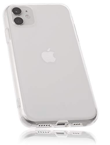 mumbi Hülle kompatibel mit iPhone 12 / iPhone 12 Pro Handy Hülle Handyhülle, klar