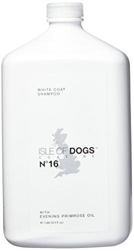 Isle of Dogs Coature No. 16 White Coat Evening Primrose Oil Dog Shampoo, 1 liter