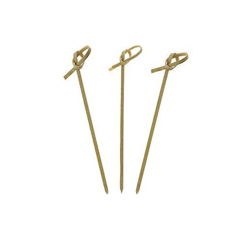 """Royal Bamboo Pick, 4"""" Green 100 ct"""