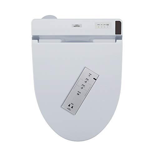 TOTO SW2044T20#01 WASHLET+ Ready Electronic Bidet Toilet Seat with PREMIST, Cotton White