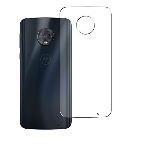 二枚 Sukix 背面保護フィルム 、 Motorola Moto G6 Plus 向けの TPU 保護フィルム 背面 フィルム スキンシール 背面保護 背面フィルム (非 ガラスフィルム 強化ガラス ガラス ケース カバー ) 修繕版