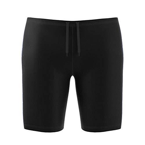 adidas Herren Fit Taper Jam Hose, Black/Croyal/Skytin, 4