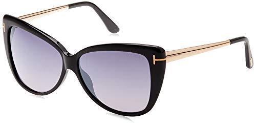 Tom Ford FT0512 5901C Tom Ford zonnebril FT0512 01C 59 vlinder zonnebril 59, zwart