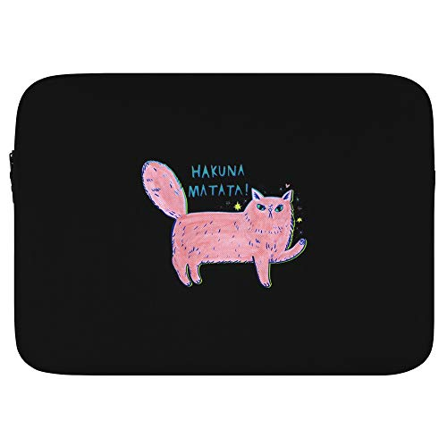 Amazing Designs Laptop Sleeve Bag Compatible with MacBook Air 13 inch, MacBook Pro 13inch Pouch Skin Cover HAKUNAMATATA 13 inch
