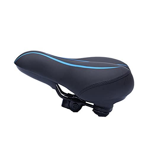 COKEYU Sella per Bicicletta,seggiolino per Bicicletta ergonomico Adatto per Bicicletta da Interni/Esterni,Sella per Bicicletta ergonomica Morbida,Impermeabile e a Prova di prostata