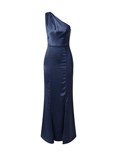 Chi Chi London Damen Abendkleid Aiyanna Navy M (38)