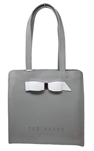 Ted Baker Arycons Bow detail icon Shopper Tote bag in Grey