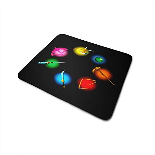 Mouse Pad Antiderrapante The Seven Deadly Sins Armas